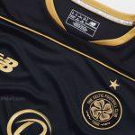 Black Celtic Top 16/17   New Balance Glasgow Celtic Alternate Kit 2016-17