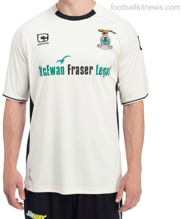 Caley Thistle Away Strip 16 17