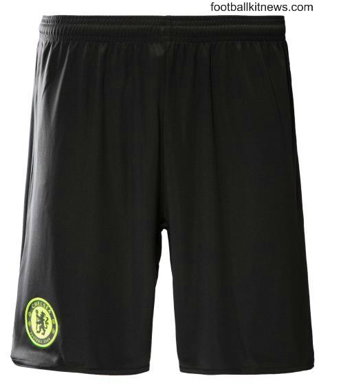 Chelsea Away Shorts 2016 17