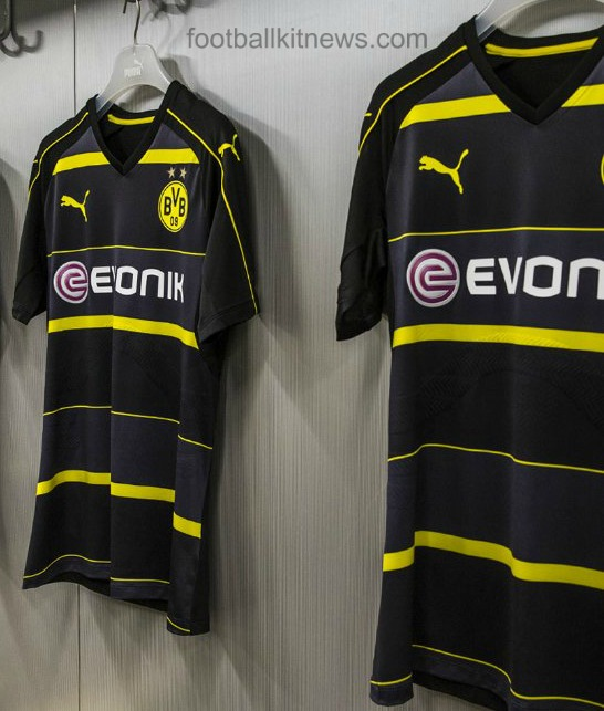 Dortmund Away Kit 16 17
