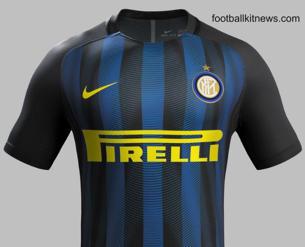Inter Home Jersey 2016 17