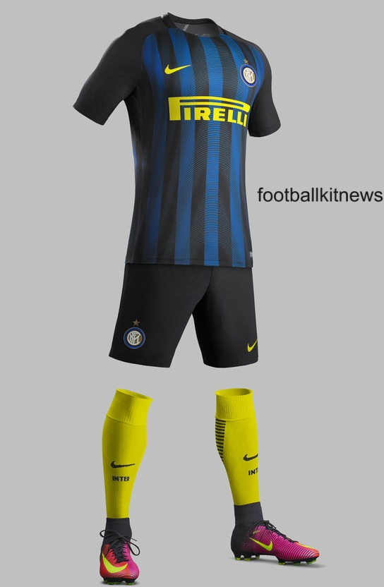 Inter Home Kit 16 17