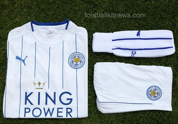 Leicester Third Kit 16 17
