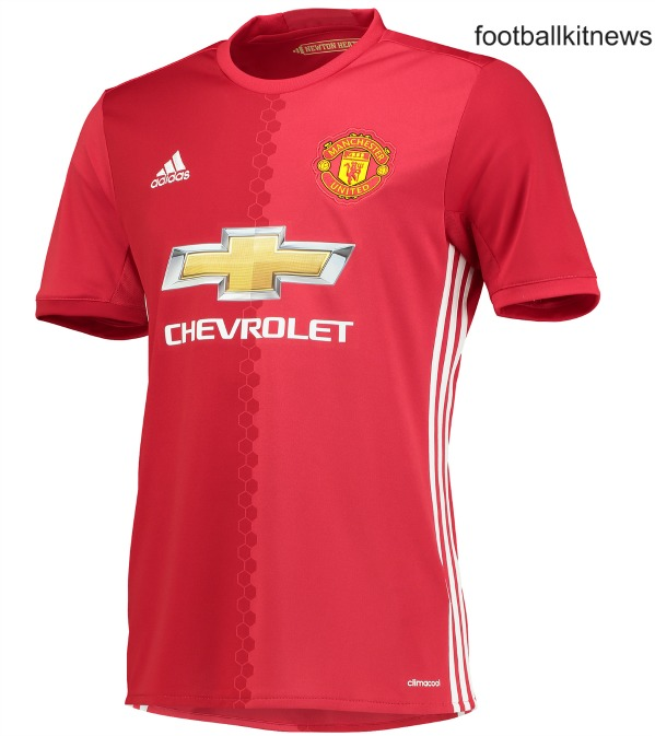New Manchester United Home Jersey 2016/2017 | Football Kit ...