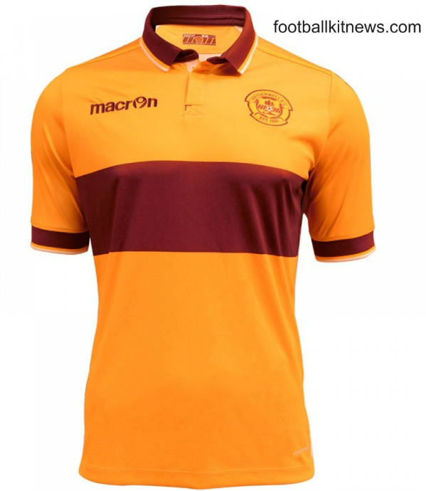 Motherwell Home Top 2016 17
