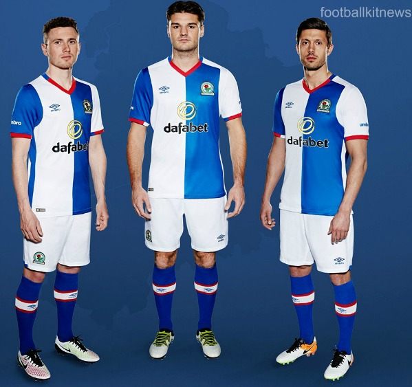 New Blackburn Rovers Home Kit 2016 17