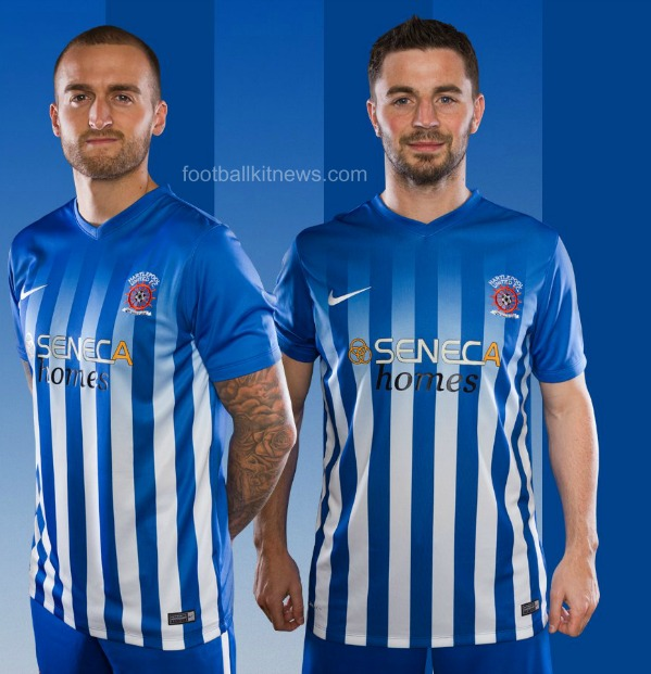 New Hartlepool United Kit 2016 17