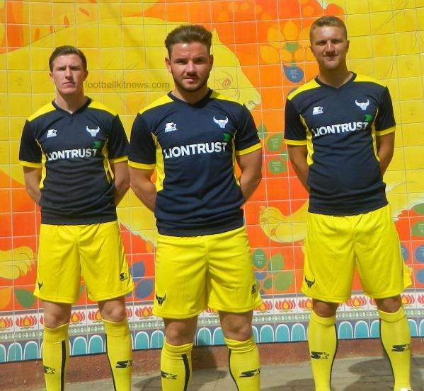 OUFC Away Shirt 2016 17