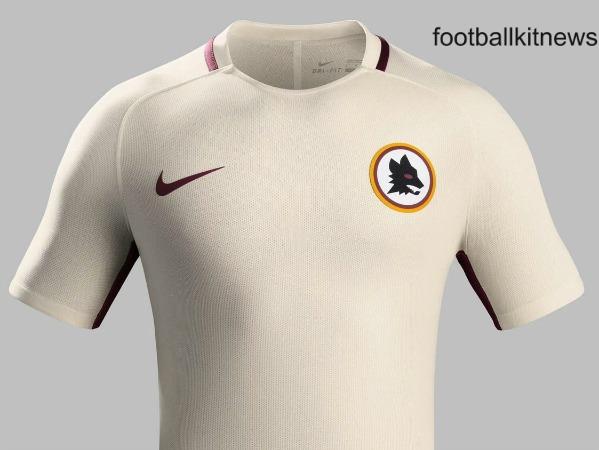 Roma Away Shirt 2016 17