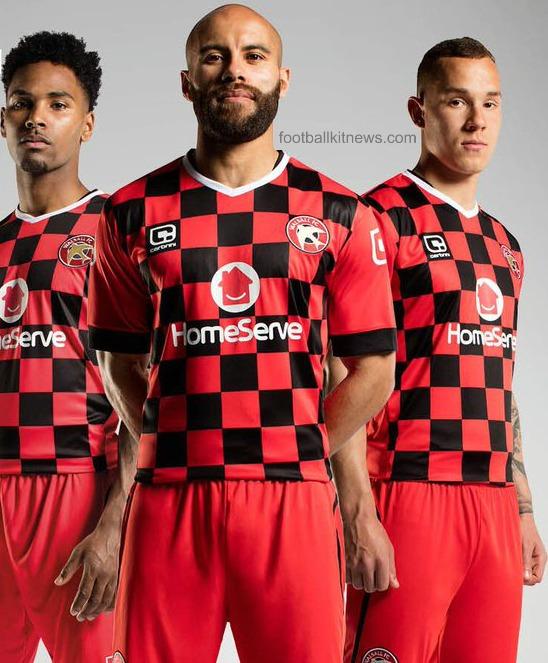 Walsall FC Home Shirt 2016 17