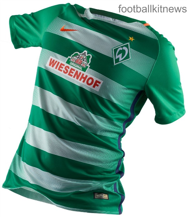 Werder Bremen Home Jersey 2016 2017
