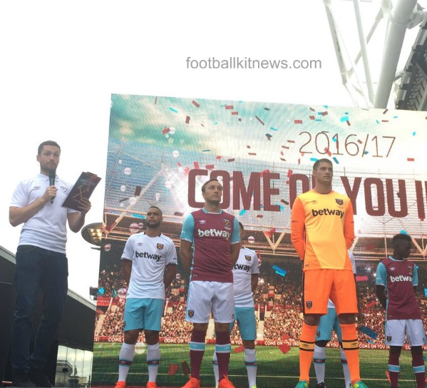 West Ham Home Kit 2016 17