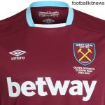 New West Ham Home Kit 2016/17- WHUFC Home Jersey 2016/2017