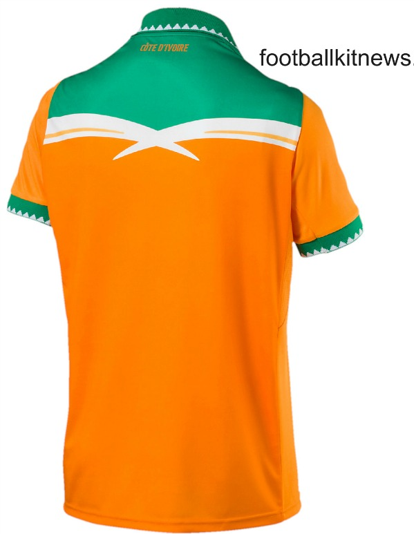 Cote d'Ivoire Football Shirt 2016 2017