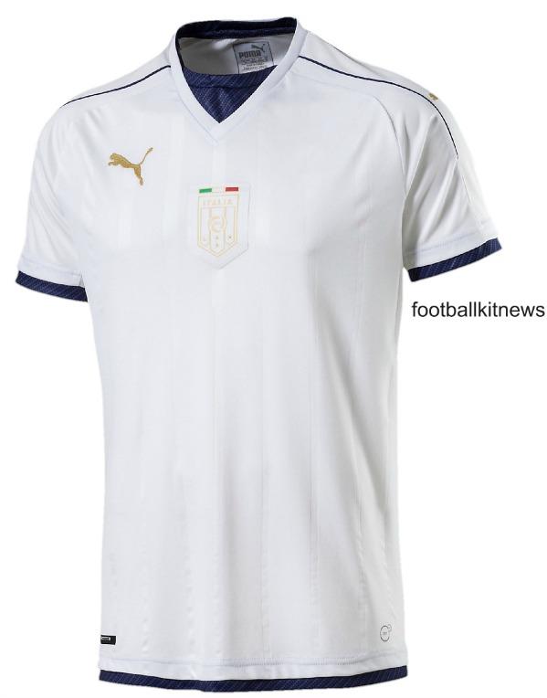 Italy Away Soccer Jersey 2016 2017