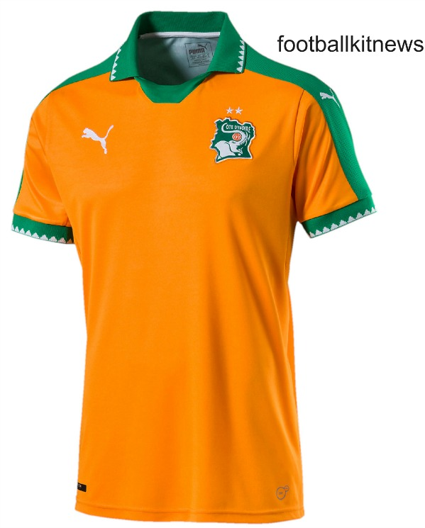 Ivory Coast AFCON Jersey 2017