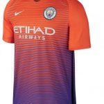 Orange Man City Third Kit 2016/17 | Nike New MCFC 3rd Jersey 2016-2017