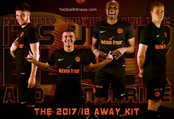 Dundee United Away Strip 2017 18