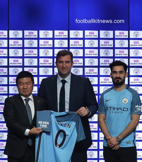 Nexen Tire Man City Sponsorship Deal
