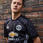 New Manchester United Away Kit 17-18   Black Man Utd Alternate Jersey 2017-18