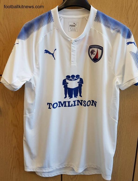Chesterfield FC Away Shirt 17 18