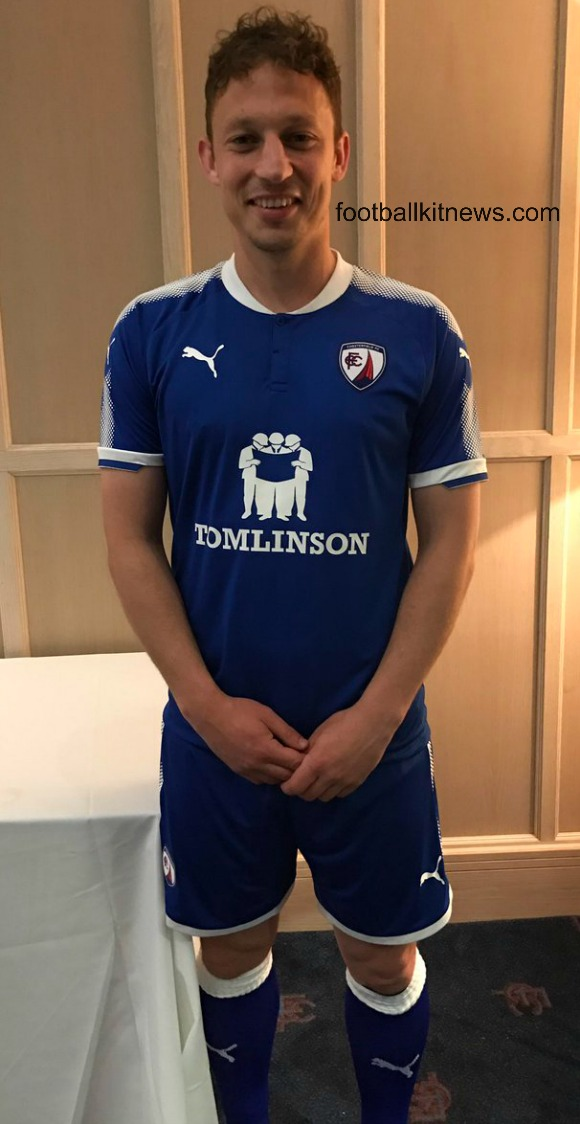 Chesterfield FC Home Kit 2017 18
