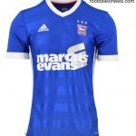 New ITFC Kit 2017-18 | Adidas Ipswich Town Home Shirt 17-18