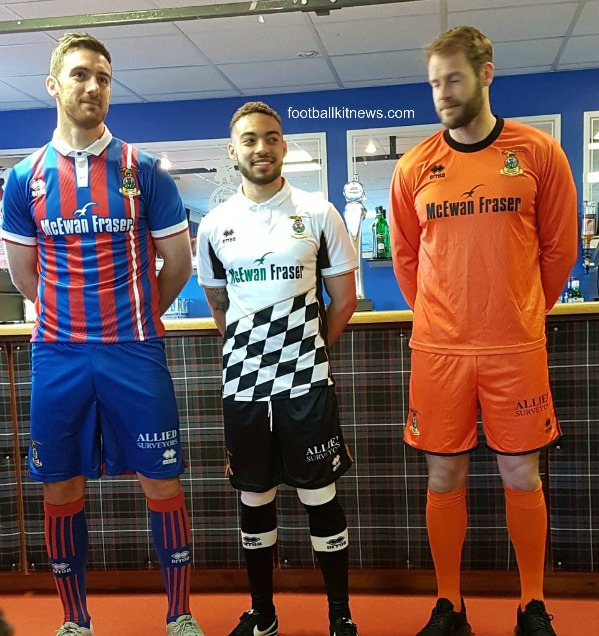 Inverness New Kit 2017 18