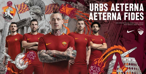 New AS Roma Strip 17 18