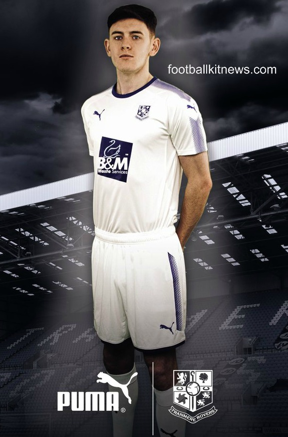 Tranmere Rovers Home Shirt 2017 18