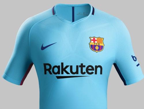 Barcelona Away Shirt 2017 2018
