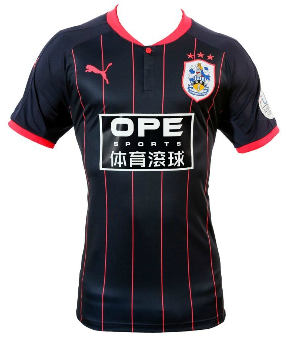 HTAFC Away Kit 2017 18 Navy