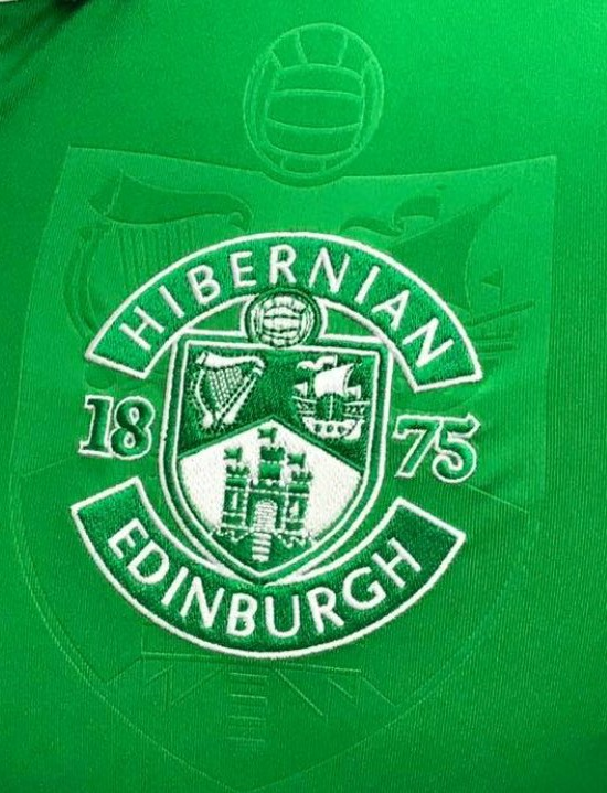 Hibernian FC Badge Detail 17 18