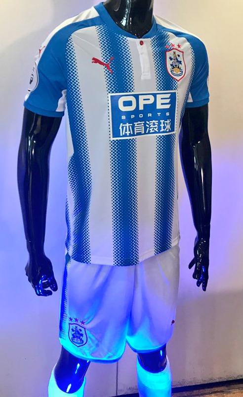 Huddersfield Town First Premier League Kit 2017 18