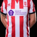Lincoln City FC Errea Home Shirt 2017-2018