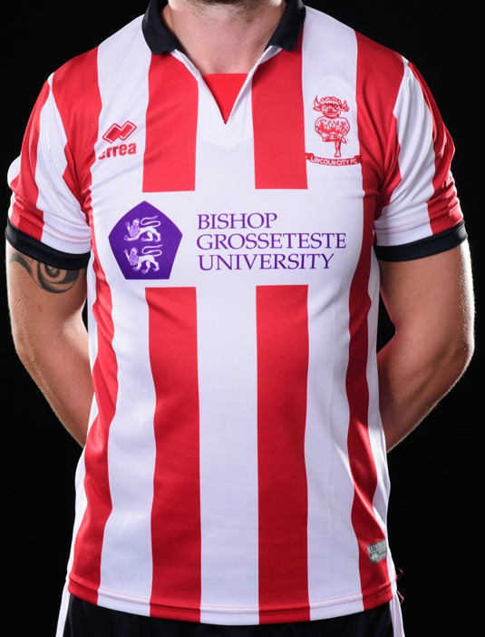 Lincoln City Home Shirt 2017 2018