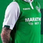 New Hibs Strip 17-18 | Hibernian FC Macron Home & Away Tops 2017-2018