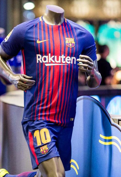 New Barca Top 2017 18