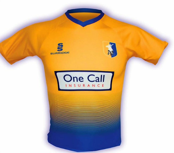 New Mansfield Town Shirt 2017 2018