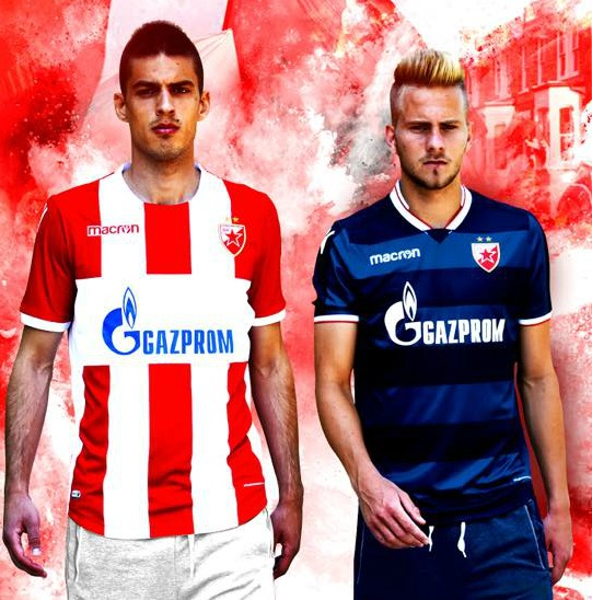 New Red Star Belgrade Jersey 2017 2018