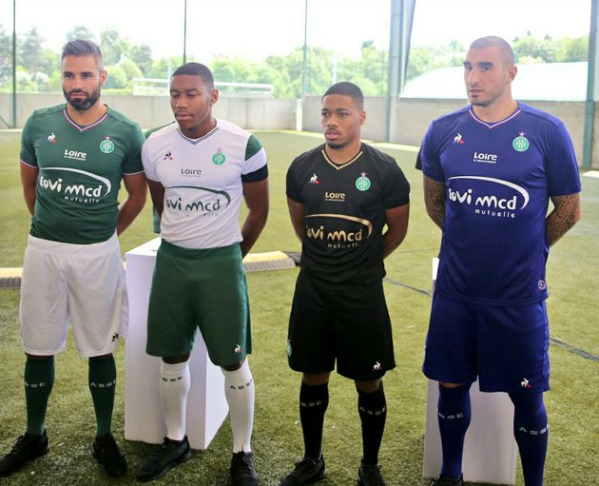 As Saint Etienne Kits   Asse Le Coq Sportif Jerseys