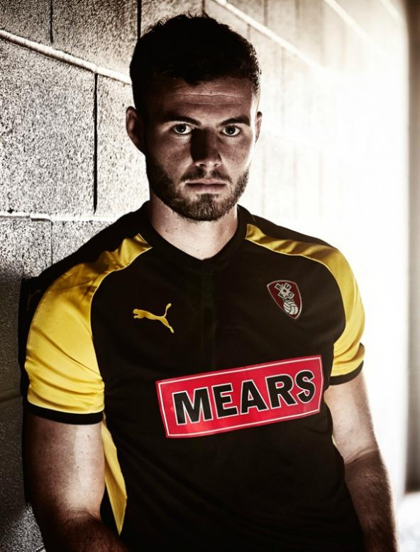 Rotherham United New Third Shirt 2017 2018