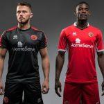 New Walsall FC Errea Kit 2017-2018 | Walsall Home & Away Shirts 17-18