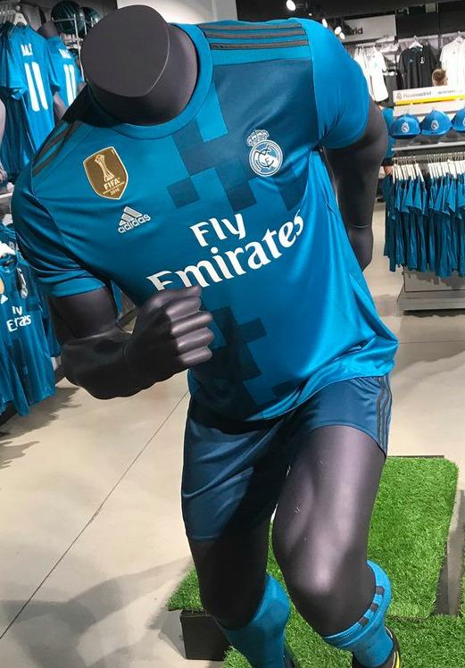 Blue Real Madrid Kit 2017 18