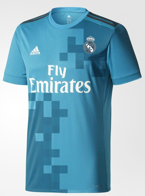 2017 Third 2017-18 Kit  Madrid Jersey Blue | Real New Real