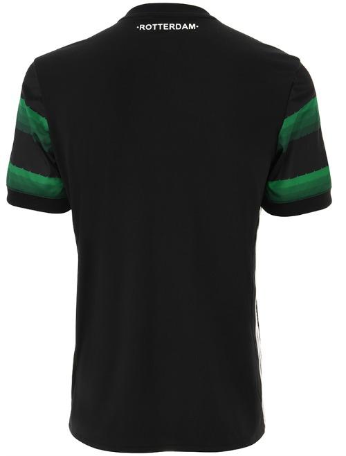 Feyenoord Away Shirt 17 18 Back
