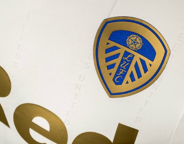 Leeds United Jersey 17 18 Closeup