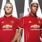 New Manchester United Home Shirt 2017-2018 by Adidas