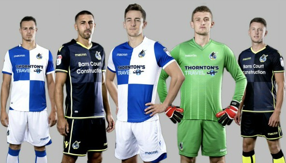 New Bristol Rovers Kit 2017 2018