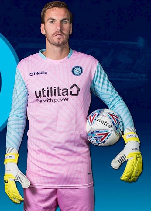 New Wycombe Wanderers Goalkeeper Kits 2017 18